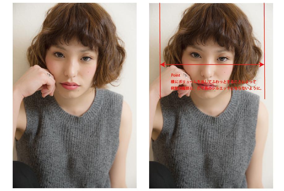 顔型別ショート-06